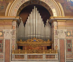 Morettini organ in Lateran - Rome