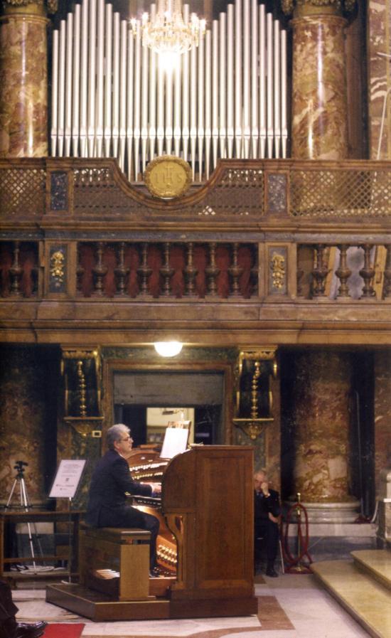 Organo di S.Ignazio RM - Concerto per PRO MUSICA E ARTE SACRA